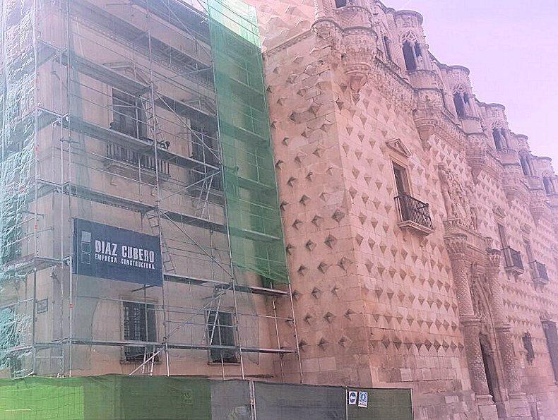 díaz cubero, DIAZ CUBERO, palacio del infantado
