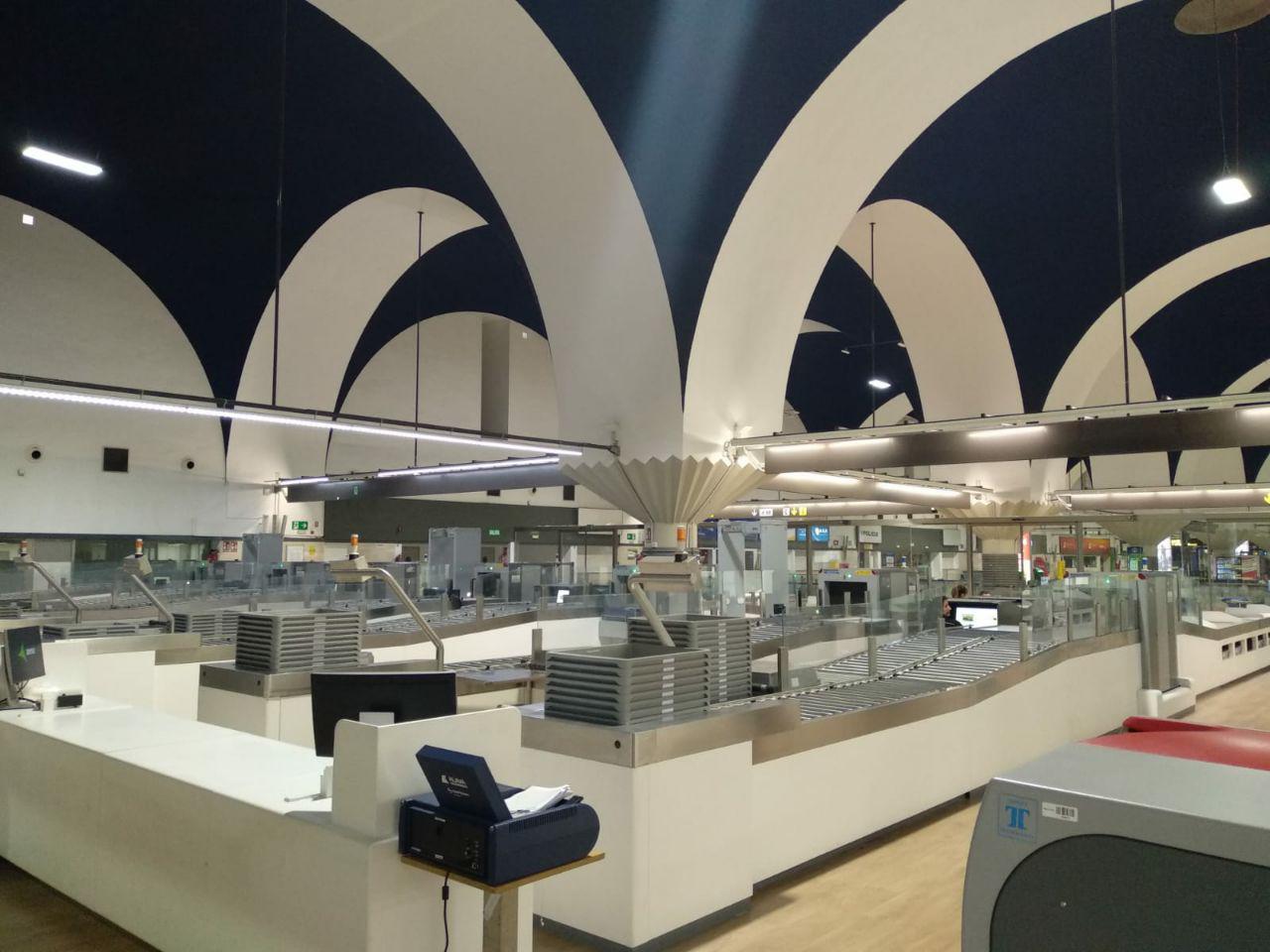 diaz cubero, díaz cubero, aeropuerto de sevilla, filtros del aeropuerto de Sevilla